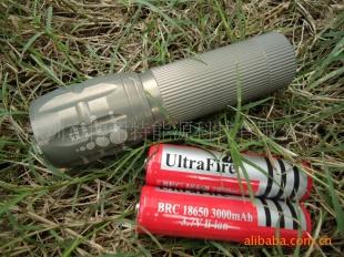 【LED强光手电筒】CREE Q3,可伸缩 变焦