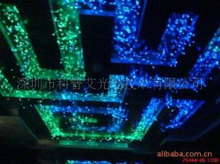 字母型光纤灯,光纤灯饰,吧台光纤灯___光纤展柜
