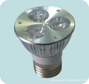 供应优质大功率LED灯杯 3W