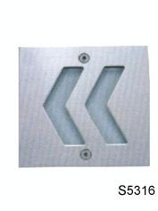 供应铝压铸方形LED壁灯