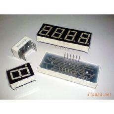 0.33英寸4位LED数码管