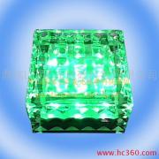 led水晶地砖灯