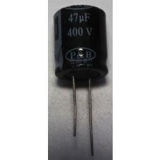 400v47uF18X22高频低阻铝电解电容器