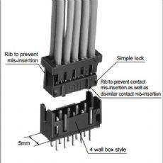 HRS广濑 DF11-22DS-2C 接插件胶壳 10个起订 订货需货期