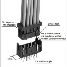 HRS广濑 DF11-18S-2C 接插件胶壳 10个起订 订货需货期