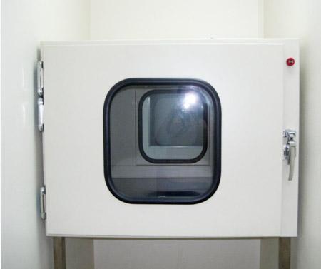 机械互锁传递窗