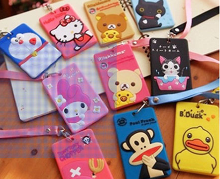 Silicone card holder001