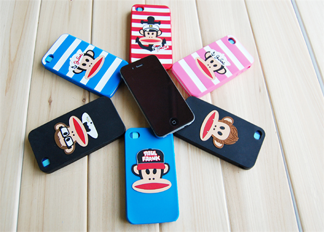 Cartoon mouth monkey phone shell