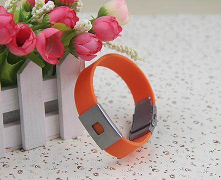 The silicone bracelet, 001