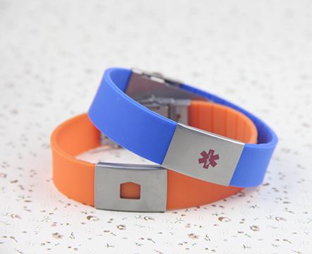 The silicone bracelet