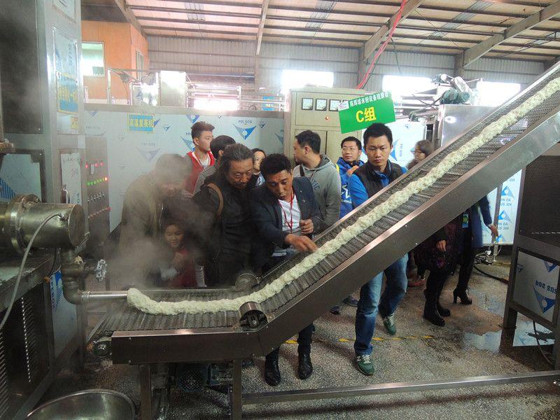 第10届陈辉球半干粉生产线观摩会