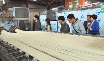 CHQ500型自熟式即食米线(方便米粉)生产线