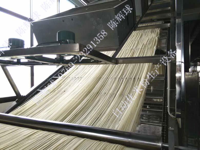 邕宁区强化米粉生产企业交流 提升米粉设备和质量管理水平