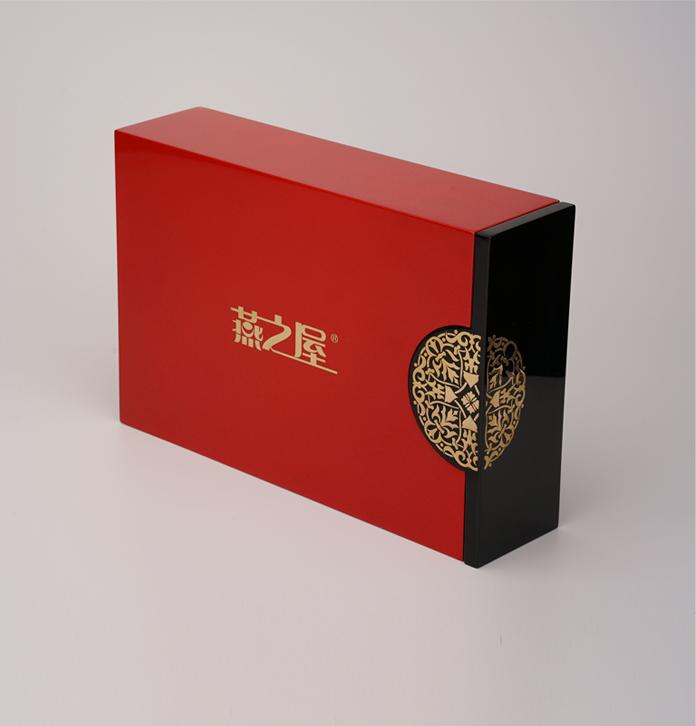 虫草木制包装盒 高级保健品礼品盒