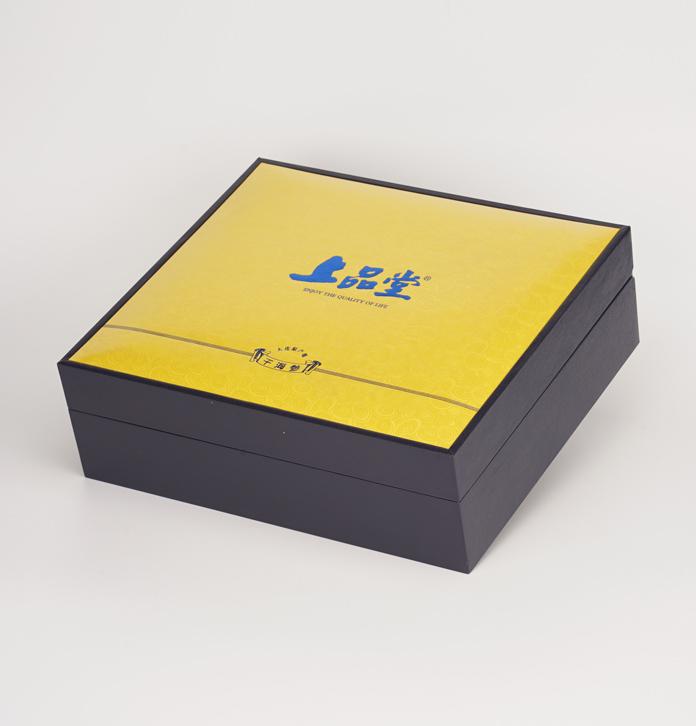 定制高级海参盒 海参礼品盒 保健品单格包装礼盒 东莞滋补品盒