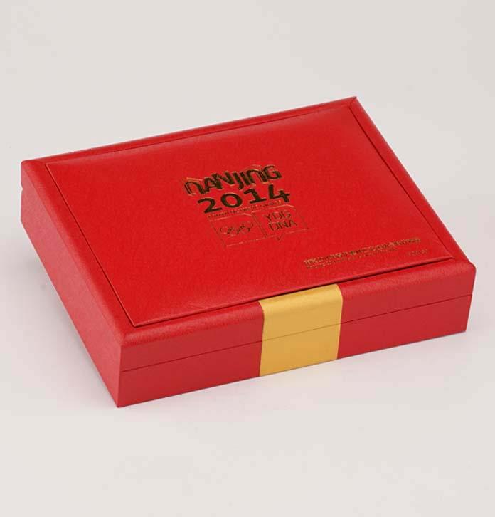 實力工廠金幣盒 精美金條包裝盒 高檔金幣盒定做 錢幣套盒