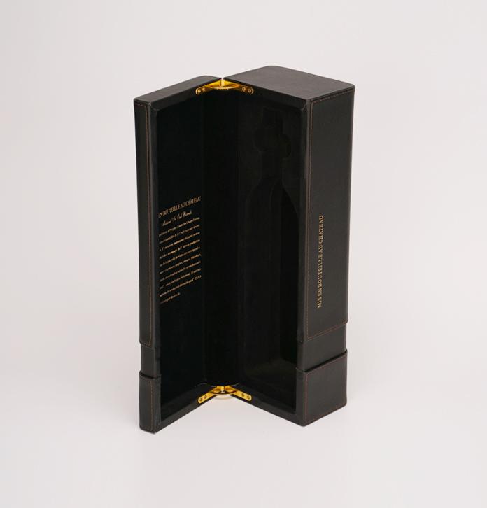 高檔紅酒皮盒 單支葡萄酒包裝定制 紅酒禮盒