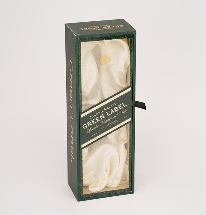 簡約時尚單支皮酒盒 透明天窗洋酒包裝盒定制 名酒包裝