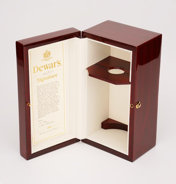 單支實木高光噴漆酒盒 威士忌酒盒包裝定制