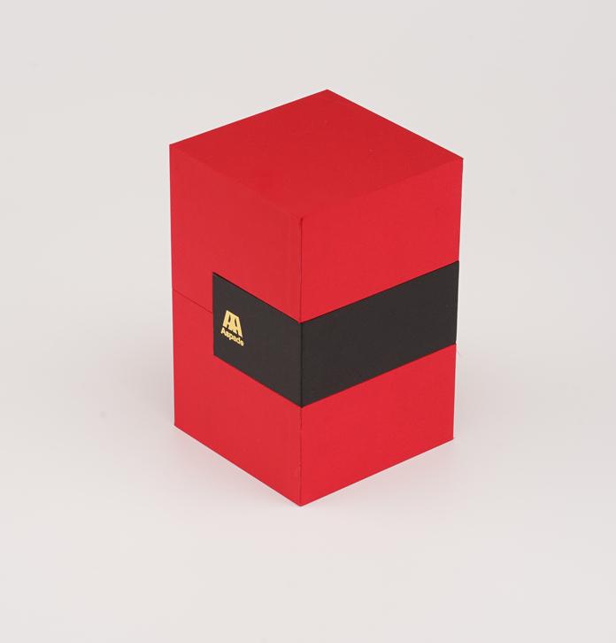 輕奢香水盒定做 簡約香水禮盒包裝 清新環保香水紙盒
