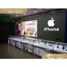 接受订制苹果7背板灯箱 苹果7软膜卡布灯箱图片