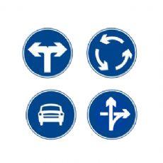 停车场标示及设施