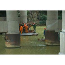 淄博市水下桥梁加固公司