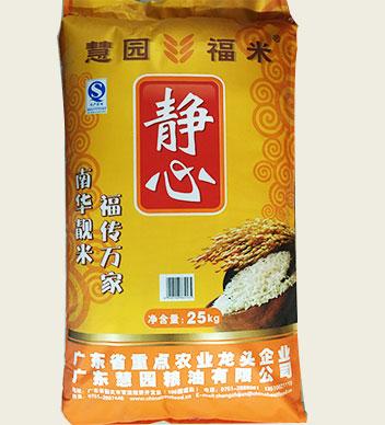 慧園靜心油粘米