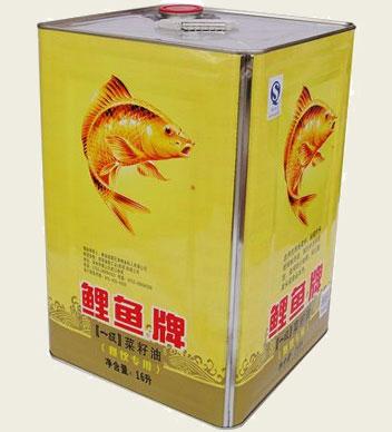 鯉魚牌菜籽油14L