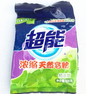 超能 濃縮天然皂粉