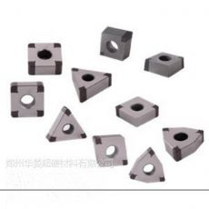车加工淬火后硬度HRC55-62度钢件用华菱PCBN刀片耐磨不崩刀