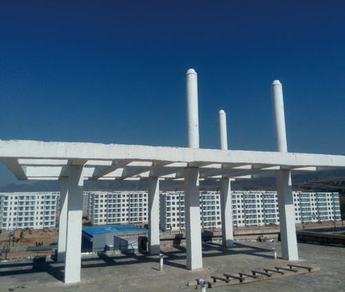 排气管型基站一体化美化天线