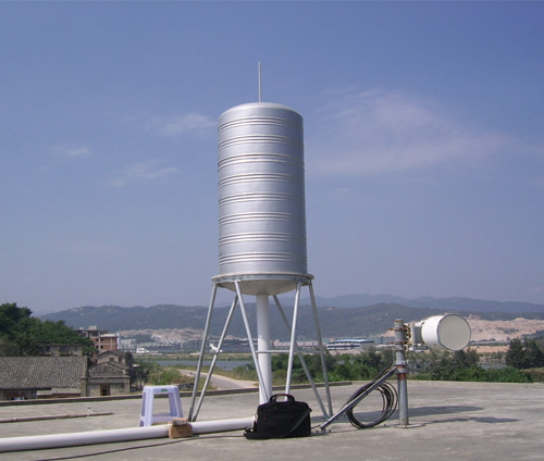 Tower type camouflaged cover