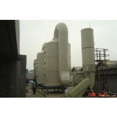 盐酸pp塑料酸雾吸收塔生产厂家