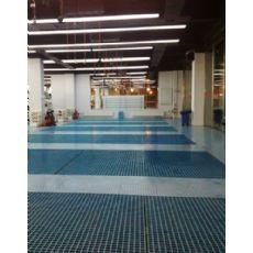 甘肃洗车店排水沟网格板/兰州洗车玻璃钢地沟盖板/洗车槽盖板