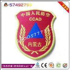 制作丝织商务执法肩章定制商务执法肩章加工厂家