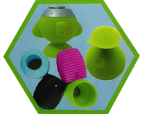 Silicone speaker sets
