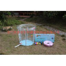 透明支架水池