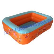 110CM方形水池橙色