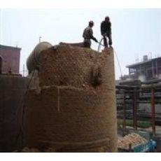 米泉烟筒拆除公司《锅炉烟囱拆除-烟囱定向爆破》