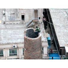 齐齐哈尔烟筒拆除公司《锅炉烟囱拆除-烟囱定向爆破》