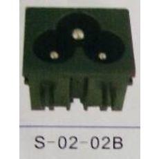 厂家直销:AC插座: S-02-02B