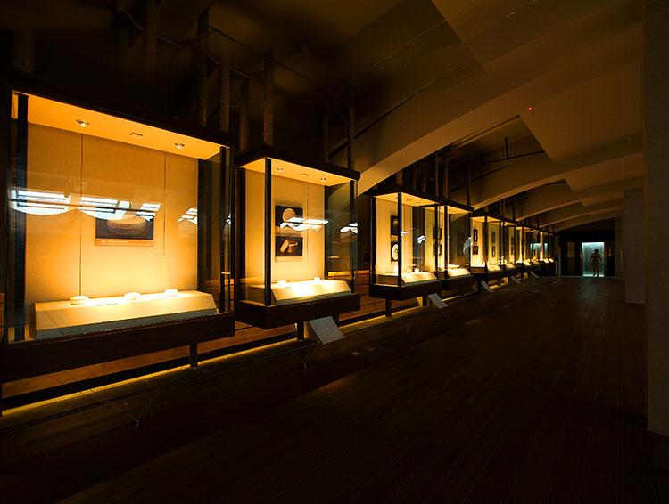 博物馆展柜照明