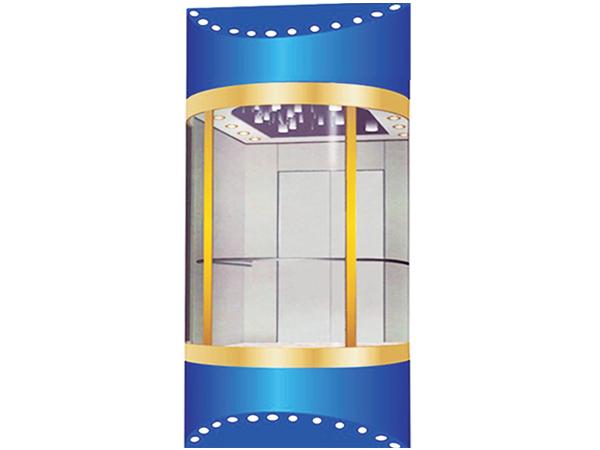 圓弧鋼化玻璃觀光轎廂