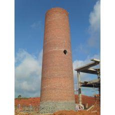 丽江建烟囱施工队《砖砌烟筒建造-锅炉烟囱建筑设计》