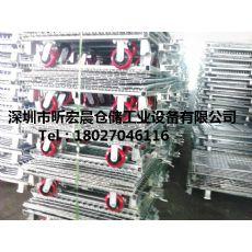 供应深圳可移动仓储笼|中山带脚轮仓储笼