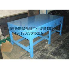 供应铁板工作台|带抽屉铁工作台