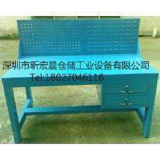 供应配挂板工作台/广东重型工作桌