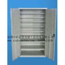 活动层板储物柜|钢制储物柜|带挂板式储物柜