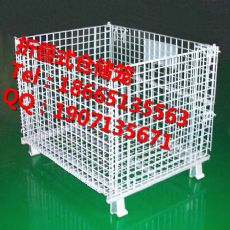 供应深圳镀锌铁笼|东莞可折叠仓库笼|惠州五金金属笼